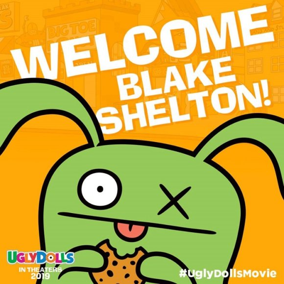 UglyDolls adds Blake Shelton