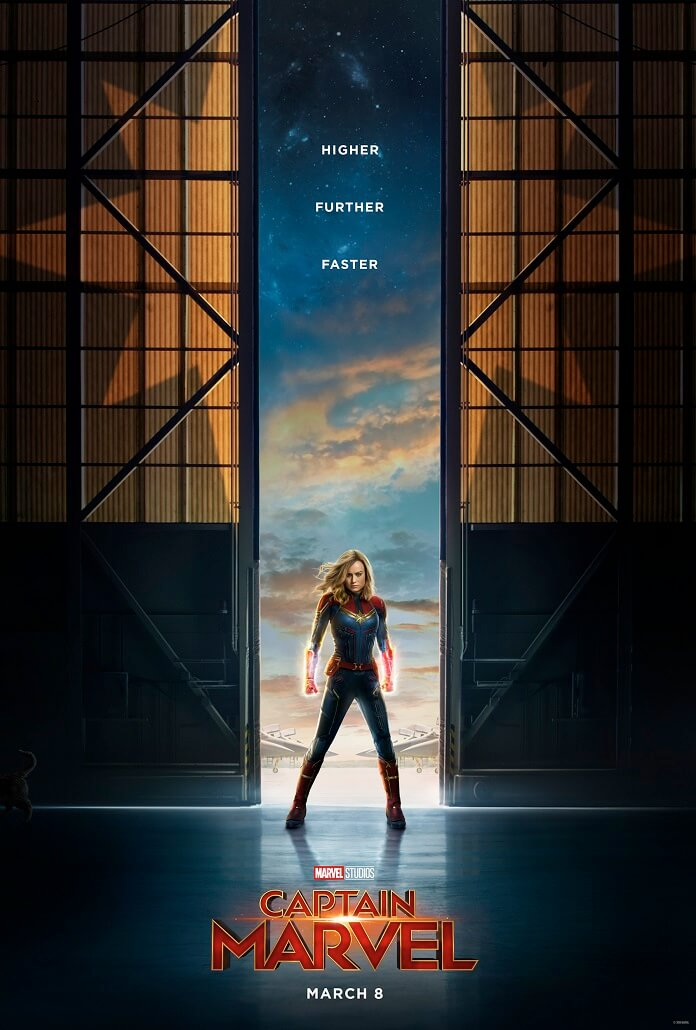 captain marvel launches the first official trailer