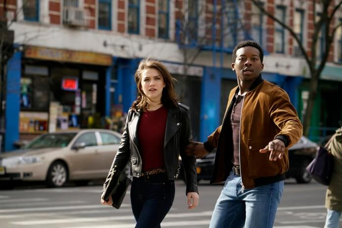 God Friended Me stars Brandon Micheal Hall and Violett Beane