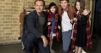 Jude Law Eddie Redmayne Back to Hogwarts