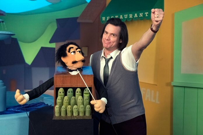Kidding star Jim Carrey