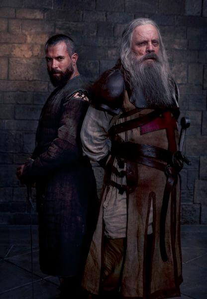 Knightfall Season 2 Tom Cullen and Mark Hamill