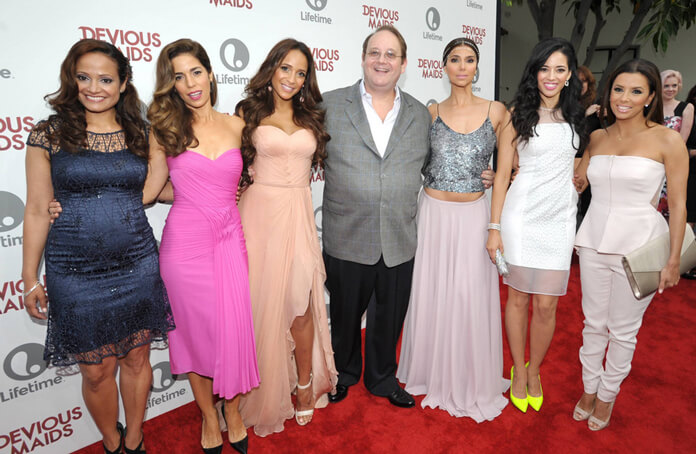 Marc Cherry and the Devious Maids Cast
