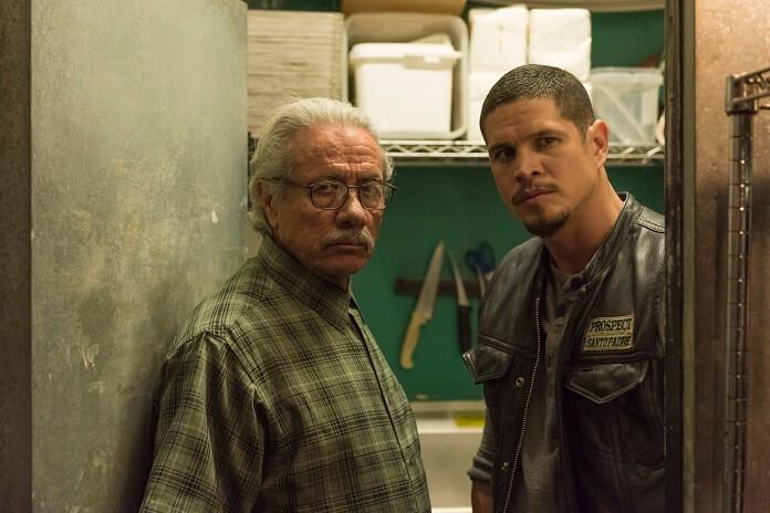 Mayans M.C. stars Edward James Olmos and JD Pardo