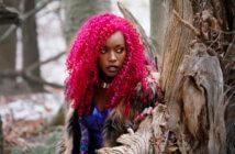 Titans star Anna Diop