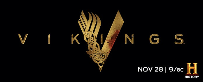 Vikings TV Series Logo