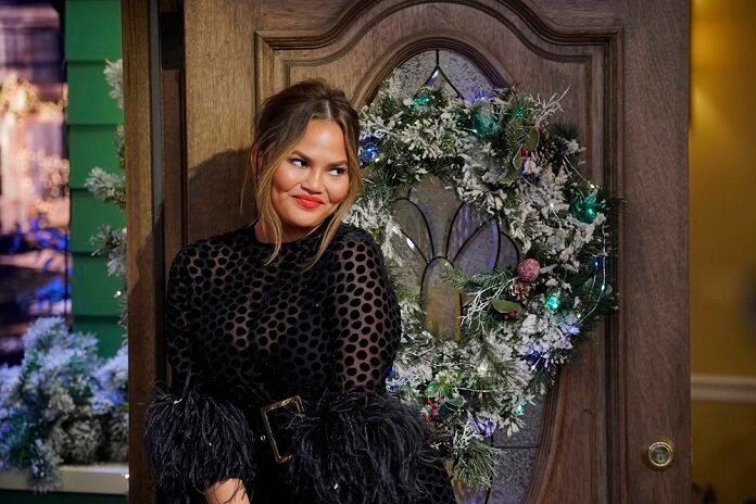 Chrissy Teigen in A Legendary Christmas