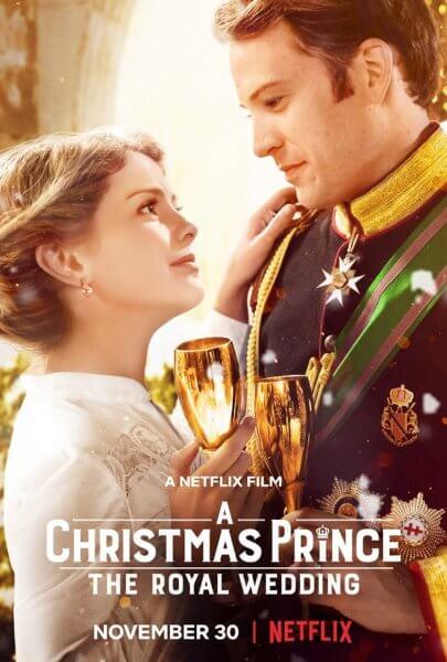 A Christmas Prince: The Royal Wedding stars Rose McIver and Ben Lamb