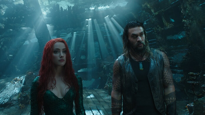 Box Office: Aquaman Jason Momoa and Amber Heard