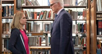The Good Place stars Kristen Bell and Ted Danson