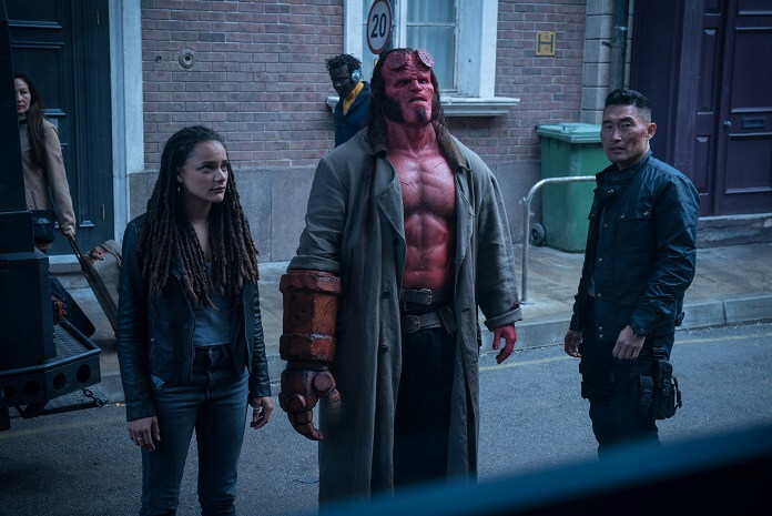 Hellboy star David Harbour