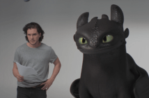 Kit Harington and Toothless