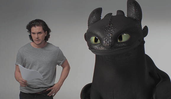 Kit Harington Has a Thing for Dragons:  King in the North Meets Toothless