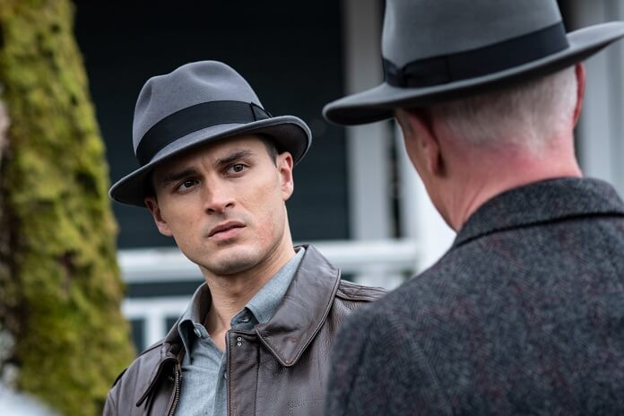 Project Blue Book star Michael Malarkey