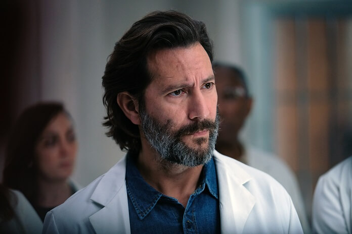 The Passage star Henry Ian Cusick