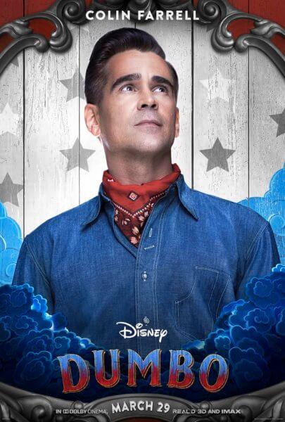 Dumbo Colin Farrell Poster