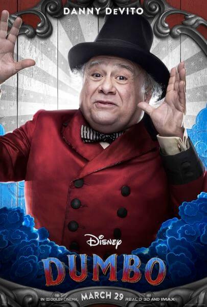 Dumbo Danny DeVito Poster