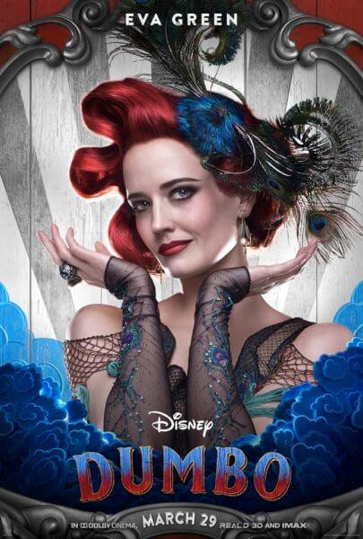 Dumbo Eva Green Poster