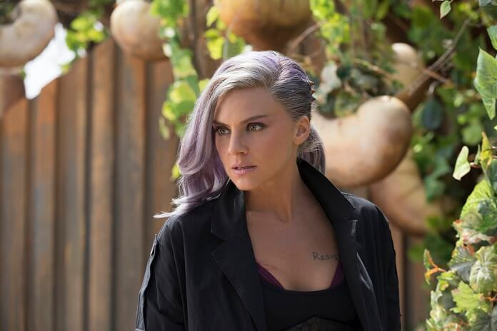Eliza Coupe in Future Man Season 2