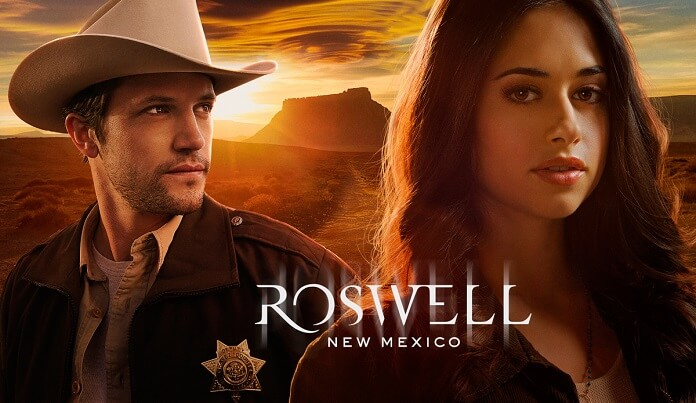Roswell, New Mexico Jeanine Mason and Nathan Parsons
