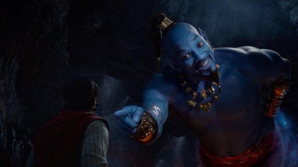 Aladdin Will Smith as the Genie