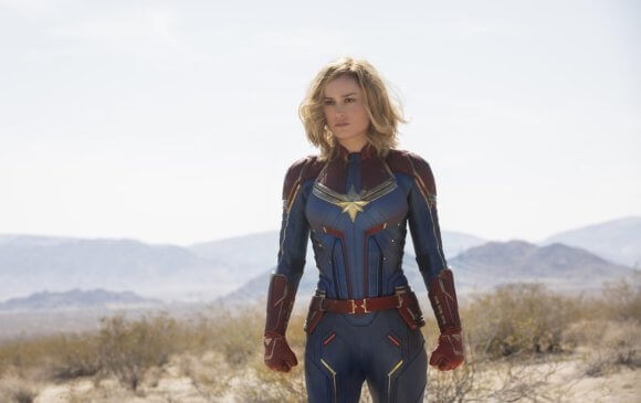 Captain Marvel star Brie Larson