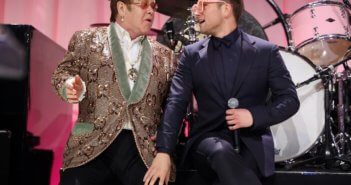 Elton John and Taron Egerton Rocketman