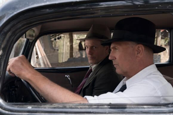 The Highwaymen Kevin Costner and Woody Harrelson