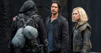 The 100 Bob Morley and Eliza Taylor