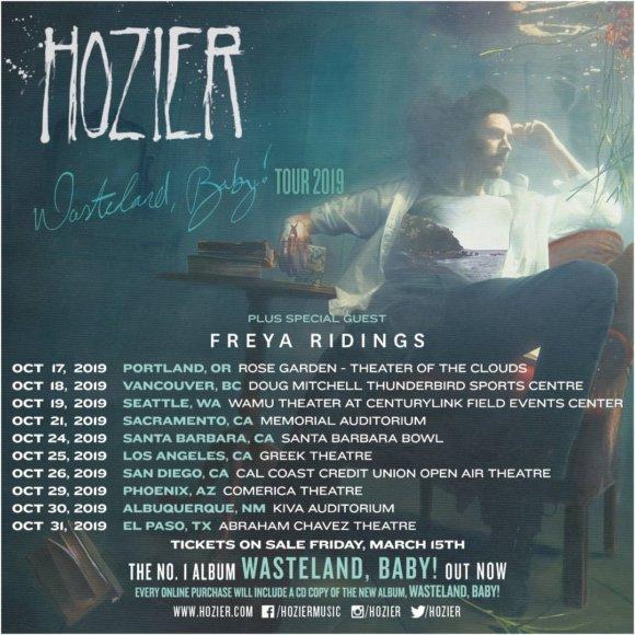 Hozier Tour Dates