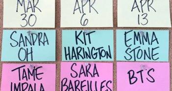SNL Kit Harington BTS Sandra Oh