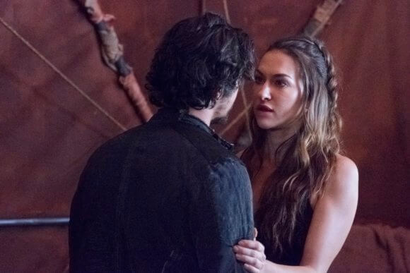 The 100 Tasya Teles and Bob Morley