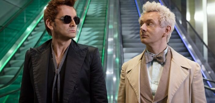 'Good Omens' – Michael Sheen and David Tennant Interview on Starring in the Adaptation of Neil Gaiman's Book