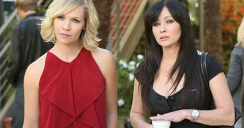 90210 Jennie Garth and Shannen Doherty