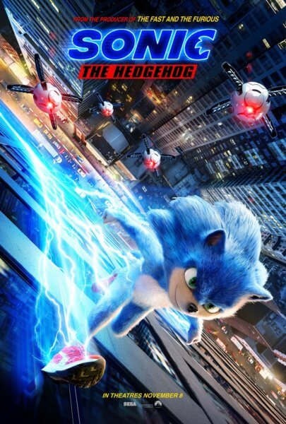 u0026 39 sonic the hedgehog u0026 39  first trailer plus a new poster and photos