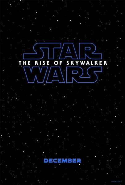 Star Wars: The Rise of Skywalker teaser poster