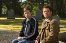 Supernatural Misha Collins and Alexander Calvert
