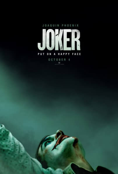 Joker Poster with Joaquin Phoenix