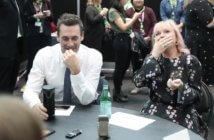 Good Omens stars Jon Hamm and Miranda Richardson