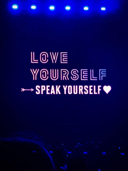 BTS Love Yourself Speak Yourself