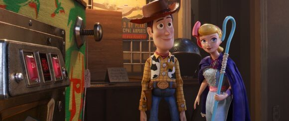 Toy Story 4 Woody and Bo Peep