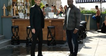 Lucifer Tom Ellis and DB Woodside