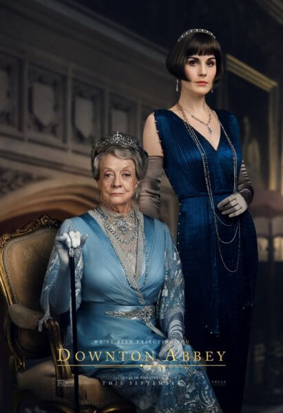 Downton Abbey Mary and Violet Poster