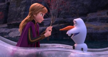 Frozen 2 Anna and Olaf