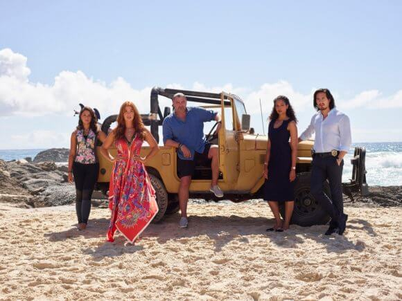Reef Break Cast Photo