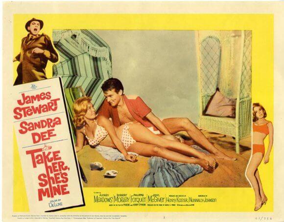 Sandra Dee in Take Her She's Mine