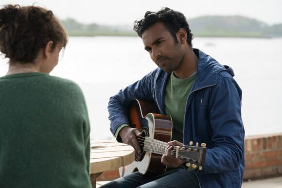 Yesterday Lily James and Himesh Patel
