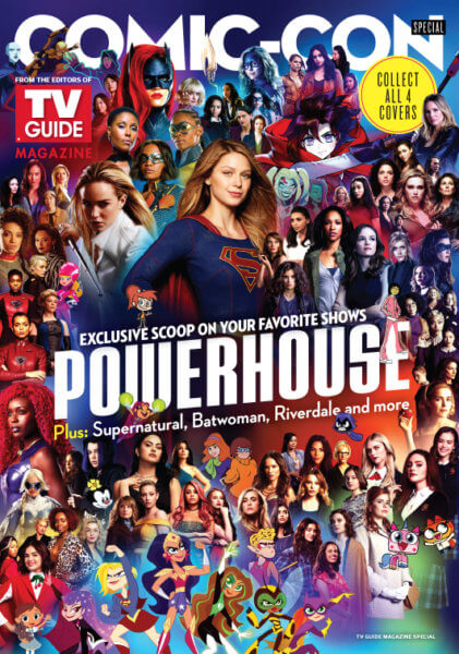 Warner Bros Television Powerhouse Women TV Guide Cover