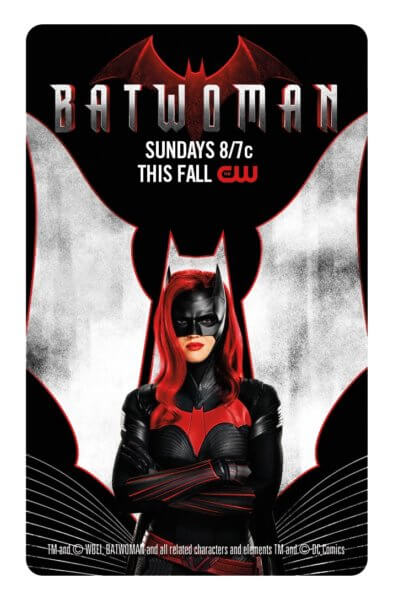Batwoman Comic Con Key Card