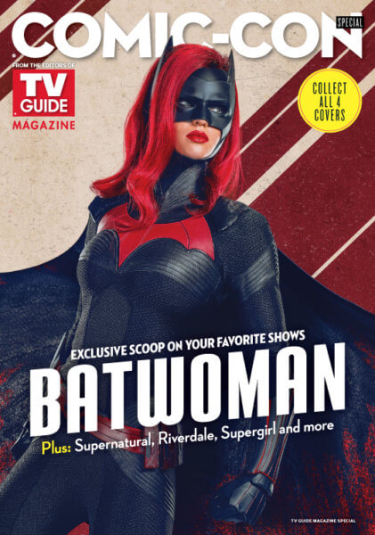 Batwoman TV Guide Cover